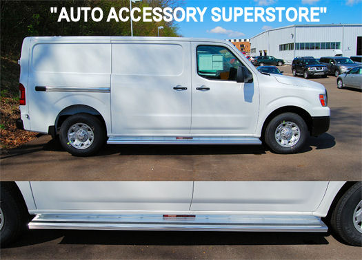 Nissan NV Van Running Boards: