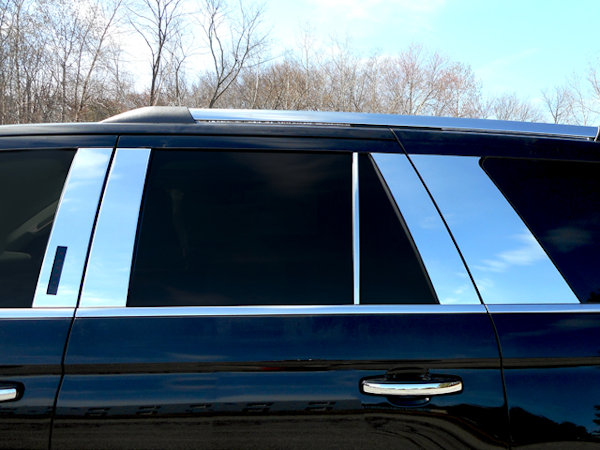 ford expedition chrome pillar posts