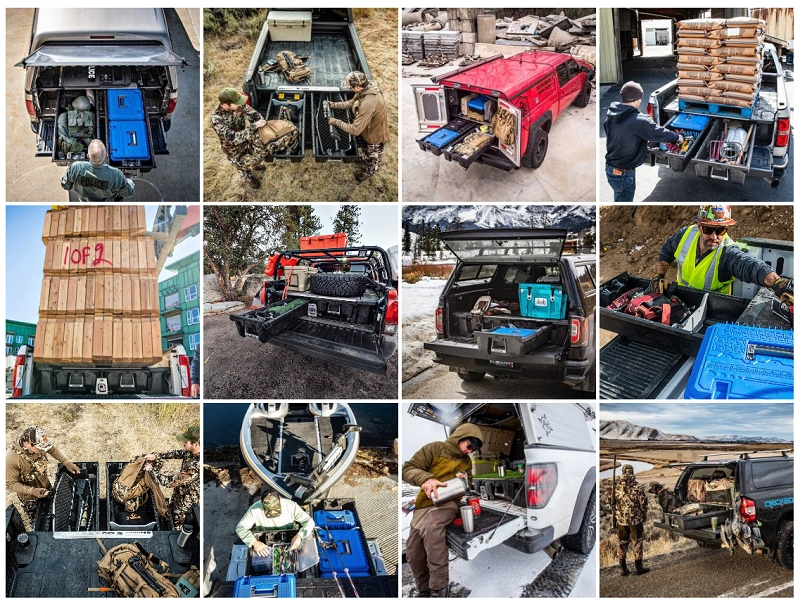 truck bed storage uses